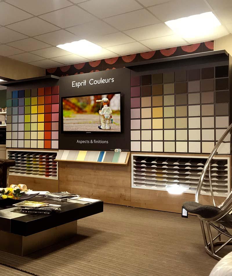 l 39 esprit ambiance couleurs et mati res. Black Bedroom Furniture Sets. Home Design Ideas